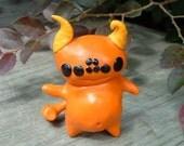 Spider Eyes and Hammer Tail Orange Monster