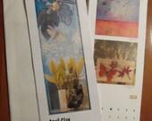 2010 Calendar- 12 months of original mixed media