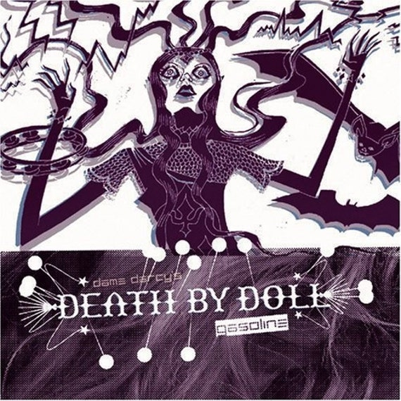 Death By Doll Gasoline CD Gothic Electronic Music Psychedelic