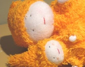 Carrot Mama and Baby CUSTOM ORDER FOR AUBBA11