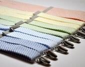 Seersucker Suspenders for Men Custom Made Suspenders