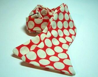 Freestyle Bowtie For Men Cherry Big Dots