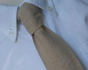 Necktie Me and Matilda Everyday Necktie Natural Linen