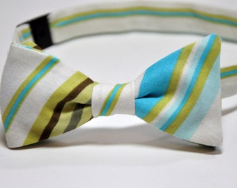 Bowtie for Little Boy's River Stripe