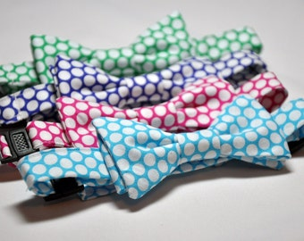 Polkadot Bowties for Little Boys Your Choice of Color
