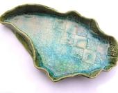 The Shallows - (Sakura Rock Pool Series) ceramic and glass jewellery/trinket dish