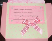 SALE - Retro Pink Love EnveCard