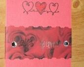 SALE - forever - tri-fold handmade card