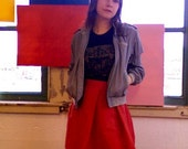red lights late nights insomnia SKIRT
