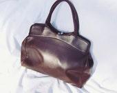 DISCOUNT Elegant and Chic 80s Ladies Brown Bag