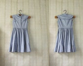 vintage 1960's handmade girls' dress
