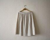 vintage 1990's soft flounce skirt