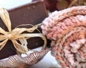 Hand Knit 100 percent Cotton Washcloth