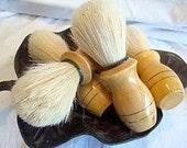 A Set of 4 Shaving Brushes - groomsmen gifts