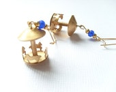 Moveable Carousel Earrings