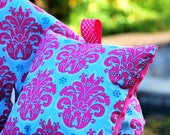 Shopping Cart Cover - Infant Shopping Cart Cover - By Tinder Designs Boutique - Solaria Damask