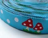 Mushroom Ribbon/ Sewing Tape 1 meter