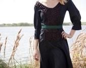SALE Black Evelyn Dress