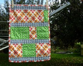 CLEARANCE - playful -- Doll Quilt