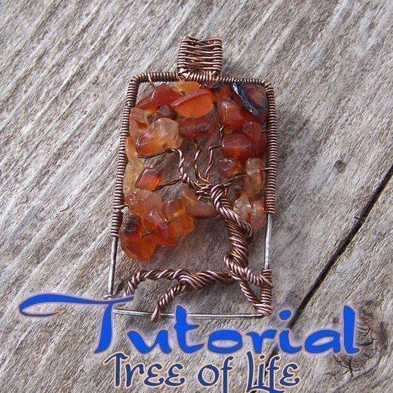 Tutorial - The Original Wire Woven Tree of Life - Pendant