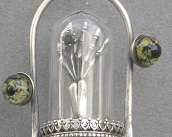 Adorned Death Diorama Necklace