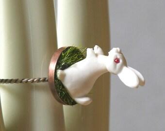 Fiver Rabbit Ring