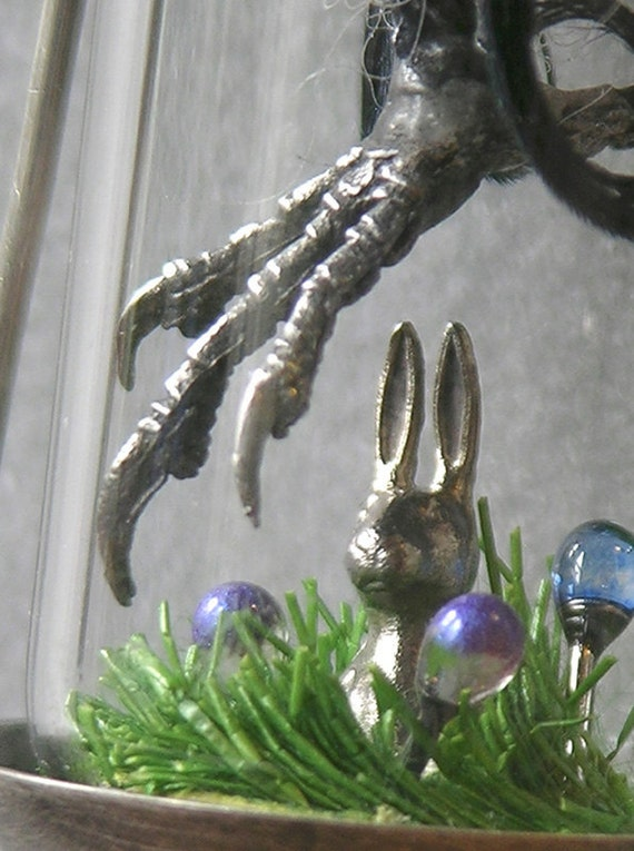 Predator And Prey Diorama Necklace