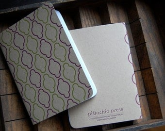 Letterpress Notebook, mid-century, No. 8