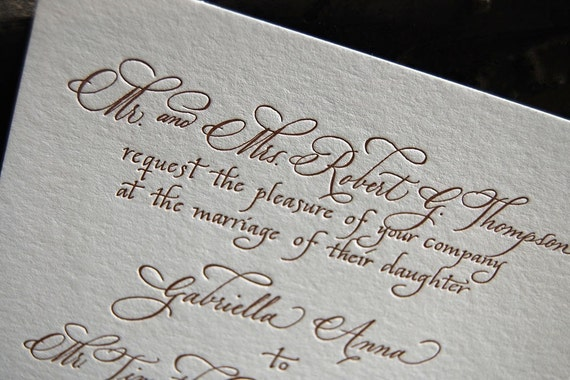 Emma Custom Calligraphy And Letterpress By Pistachiopress