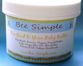 Bee Good To Your Baby Butter, Lotion\/Diaper Rash Cream Unscented 4 Ounces