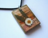 Artisan Vintage Style Double-Sided Pendant OOAK Great Gift