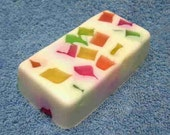 SALE --- ITS A PARTY Confetti bar soap Great Gift