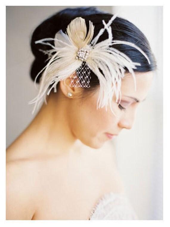 LEVINA Fascinator, Bridal Headpiece