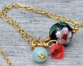 Gold-Filled Charm Necklace