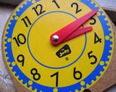 Lot of 5 Vintage Clock Face Whimiscal Supplies DIY Projects