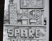 MINI ZINE by Anthony Woodward -'Spare Parts'