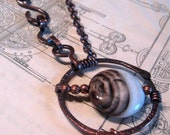 Simply Mine, Sardonyx and Copper Necklace, Above and Beyond