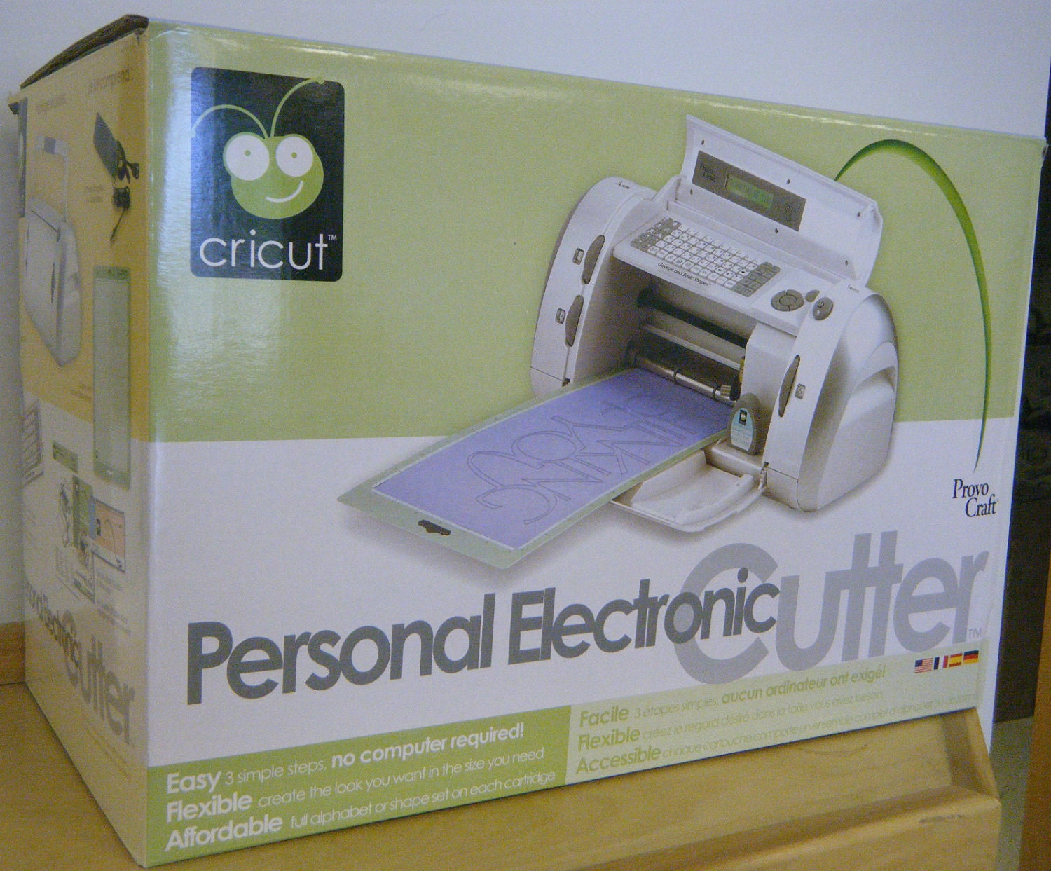 cricut personal electronic cutter machine