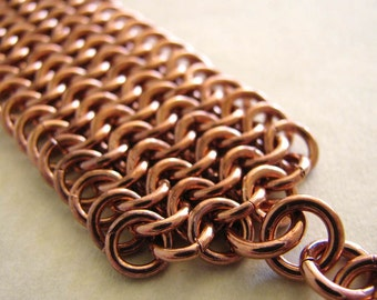 Bright Copper Euro bracelet