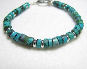 Turquoise and Sterling bracelet