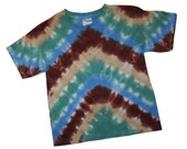 Natural Colored 4T Tie-dyed T-shirt