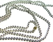 Tiny ball chain necklaces 5 chains at 20 inches long Shipping within 24 hours with free  bail sample