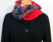 Infinity Scarf Pattern - Fleece or any Fabric Scarf Tutorial - PDF Sewing Pattern