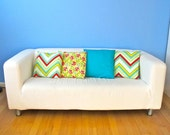 Envelope Pillow Tutorial - How to Sew a Pillow Cover PDF - all sizes