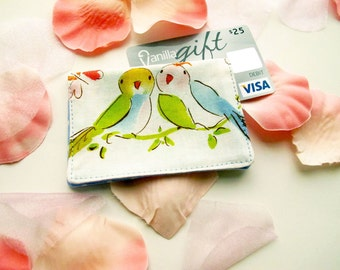 Gift Card Holder Tutorial - also for Business Cards, Credit Cards - Easy Sew Pattern