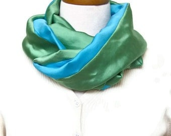 Infinity Scarf Pattern for Fabric - Infinity Scarf Sewing Pattern - PDF - Sewn Infinity Scarf Pattern