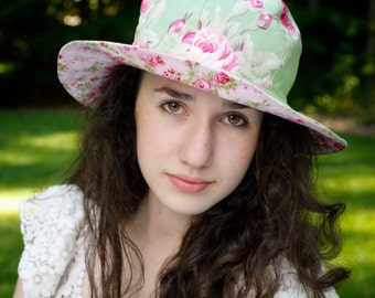 Womens Sun Hat Pattern - Sewing Pattern PDF