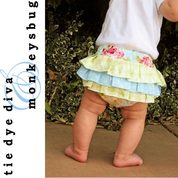 How to Sew RUFFLED DIAPER COVERS for infants and toddlers PDF Pattern and Instructions - No Serger needed