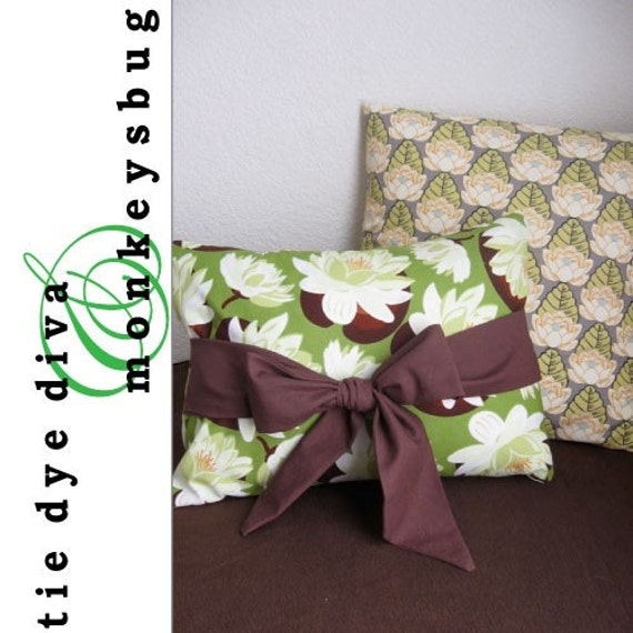 How to Sew Easy No-Zipper Throw Pillow Covers PDF by tiedyediva