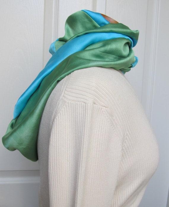 how to make a fleece infinity scarf